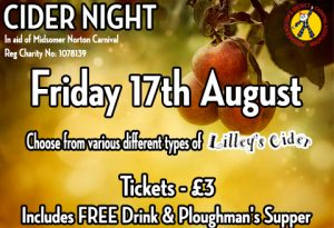 Cider Night 17th August